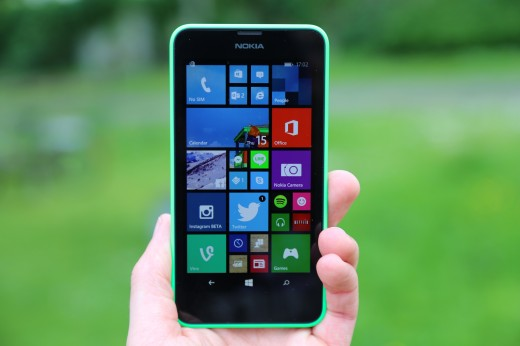 BS4A0773 520x346 Nokia Lumia 630 review: Meet the low cost flag bearer for Windows Phone 8.1