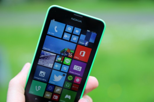 BS4A0798 520x346 Nokia Lumia 630 review: Meet the low cost flag bearer for Windows Phone 8.1