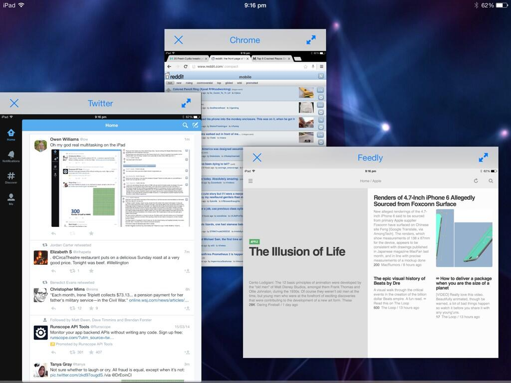 BnWBXfoCEAAQjrG Amazing Jailbreak tweak brings true multitasking support to the iPad