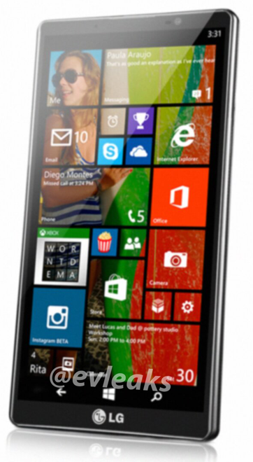 BnfNevOCAAATwlK Leaked LG Uni8 image reveals the companys first Windows Phone 8 device