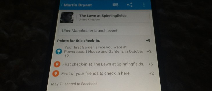 Check in points 730x314 The big thing Foursquare left out of Swarm: Check in points. Ill miss them