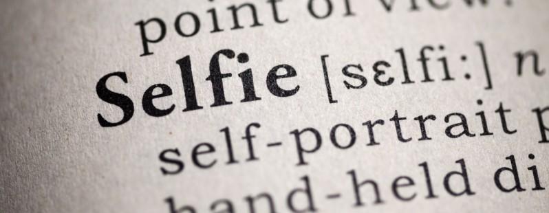 Dictionary-selfie