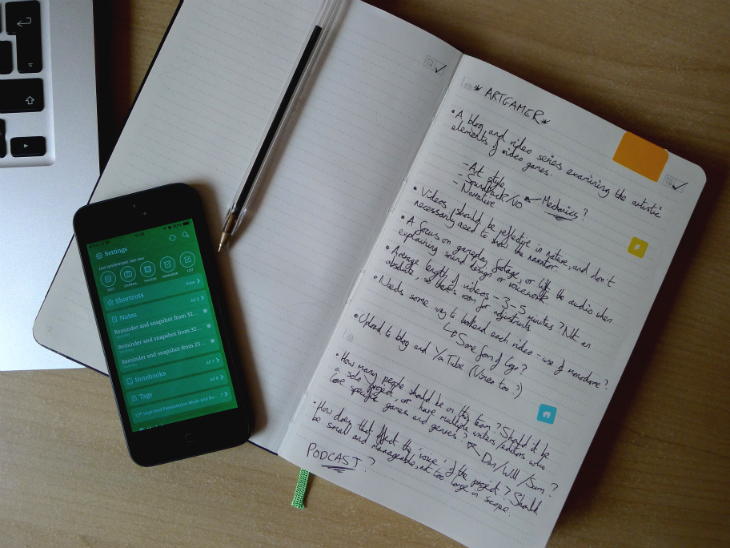Evernote6 Evernote Business Notebook review: A stylish Moleskine jotter to organize your handwritten notes