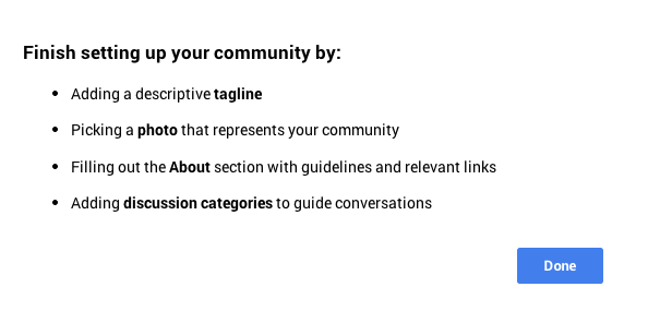 Google plus Communites profile setup How to use Google+ communities to grow your business