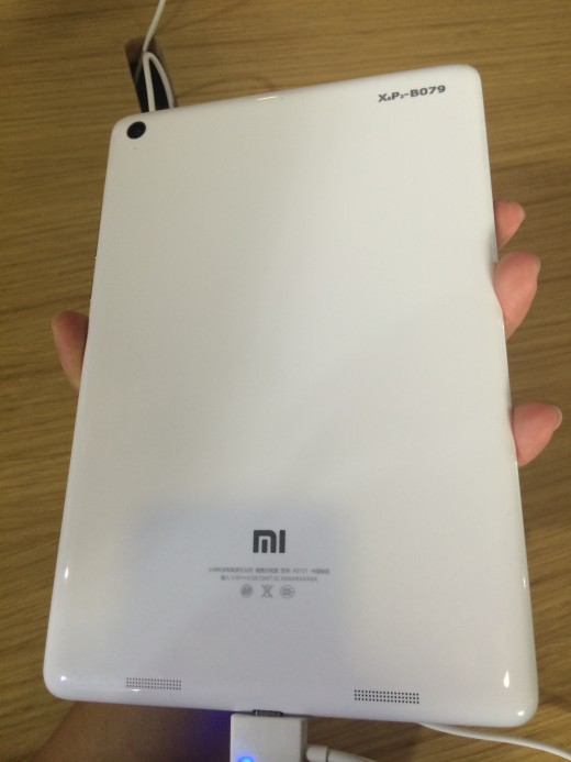IMG 9742 520x693 Hands on with Xiaomi's tablet Mi Pad: Can this oversized iPhone 5c challenge Apple?