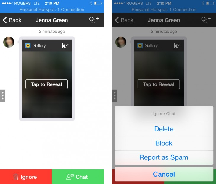 KIK UPDATE 730x623 Kik sets its sights on becoming the Twitter of messaging apps