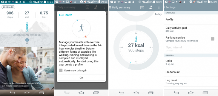 LGHealth2 730x321 LG G3 review: Third times a charm for LGs 5.5 flagship, but questions remain over battery life