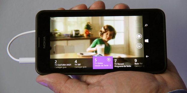 Lumia 630 Brazil DTV in line2 Nokia Lumia 630 with digital TV tuner unveiled for Brazil ahead of FIFA World Cup