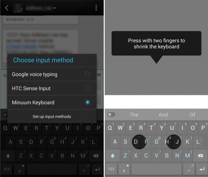 Minuum setup 730x621 Minuum: A nifty collapsible keyboard app for Android