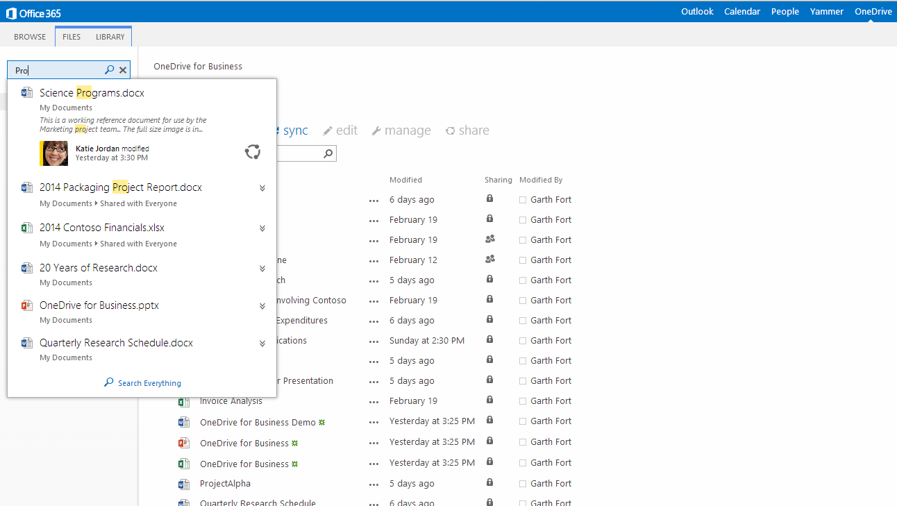 OBUI 04 Microsoft updates OneDrive for Business with new design, Simple Controls, Site Folders, and smarter search
