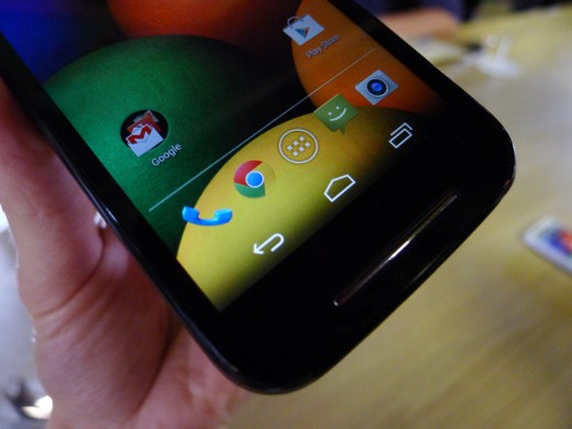 P1050653 520x390 Moto E hands on: Is this the low end Android smartphone to rule them all?