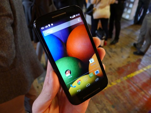 P1050681 520x390 Moto E hands on: Is this the low end Android smartphone to rule them all?