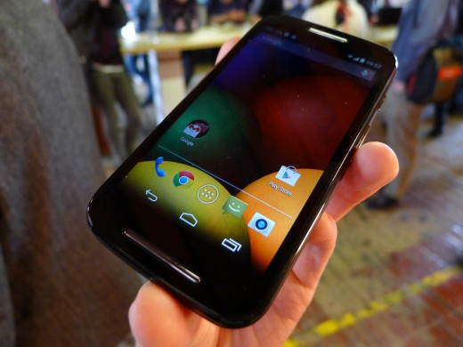P1050686 520x390 Moto E hands on: Is this the low end Android smartphone to rule them all?