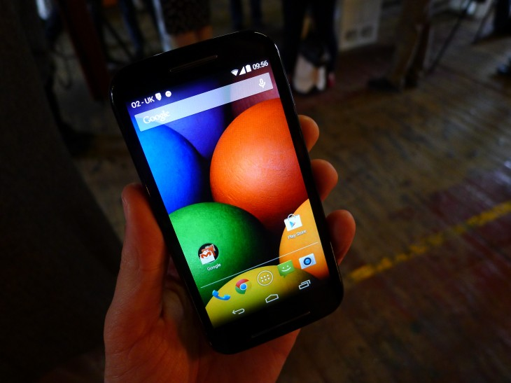P1050703 730x547 Moto E hands on: Is this the low end Android smartphone to rule them all?
