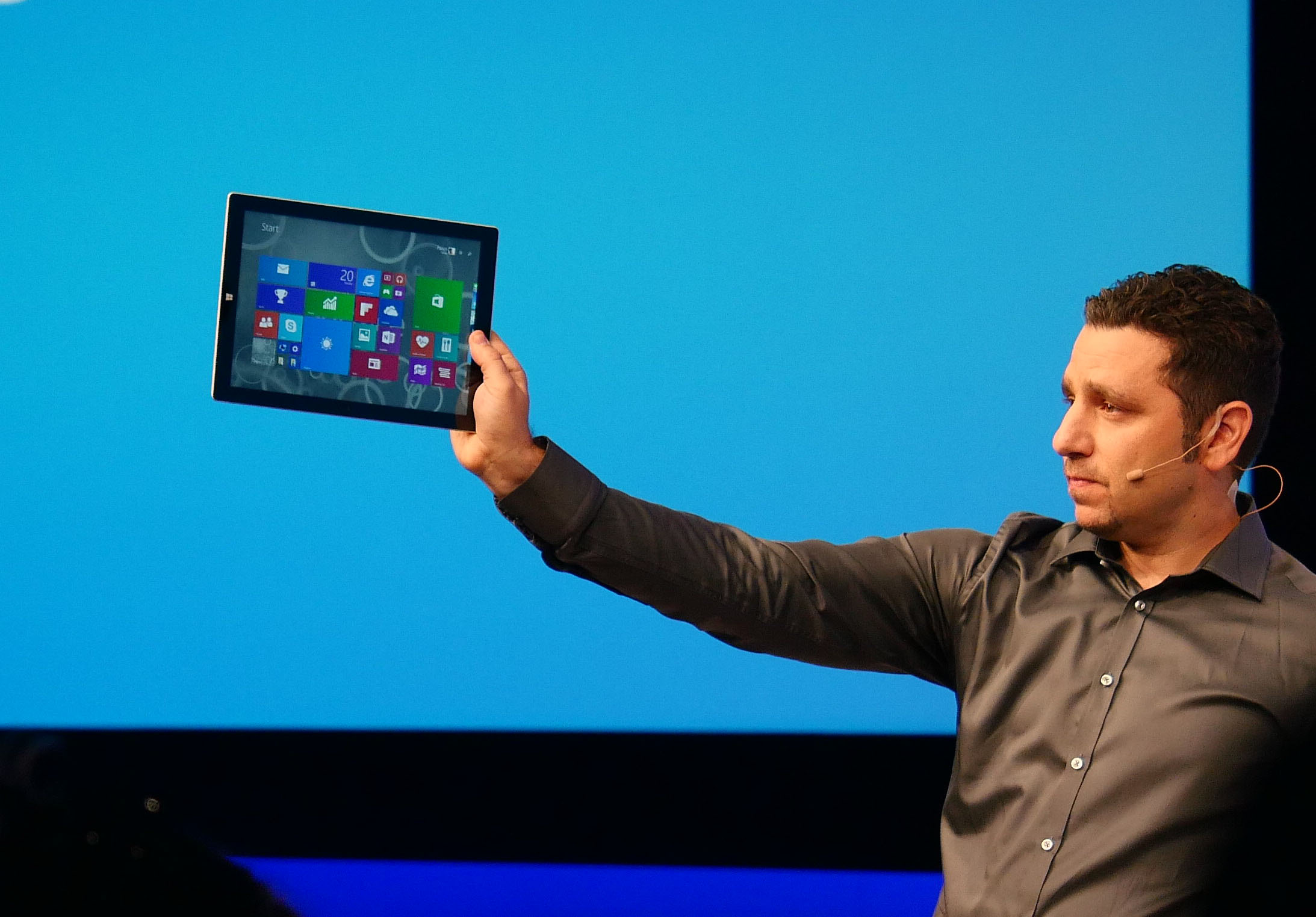 Microsoft Unveils Surface Pro 3 Cover with Larger Trackpad