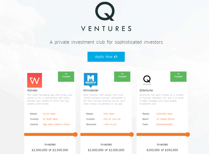 Qventures 730x540 Members only investment club Q Ventures launched to connect super angels with fast growth startups