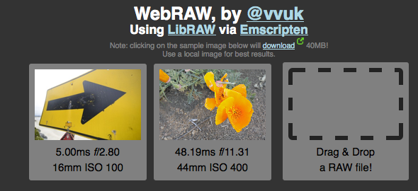 Screen Shot 2014 04 30 at 3.22.27 PM Finally: You can open and process Raw images in your browser