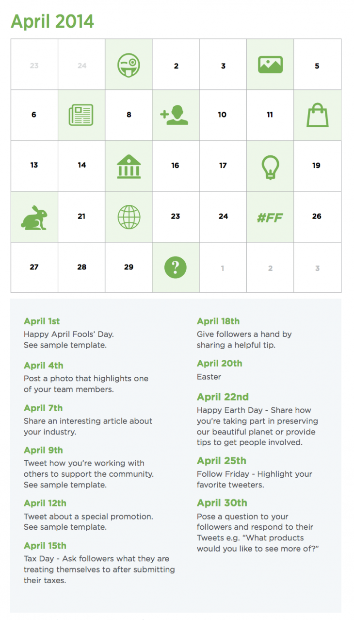Screen Shot 2014 05 12 at 7.29.08 PM 730x1277 The guide to choosing a content calendar: Tools, templates, tips and more