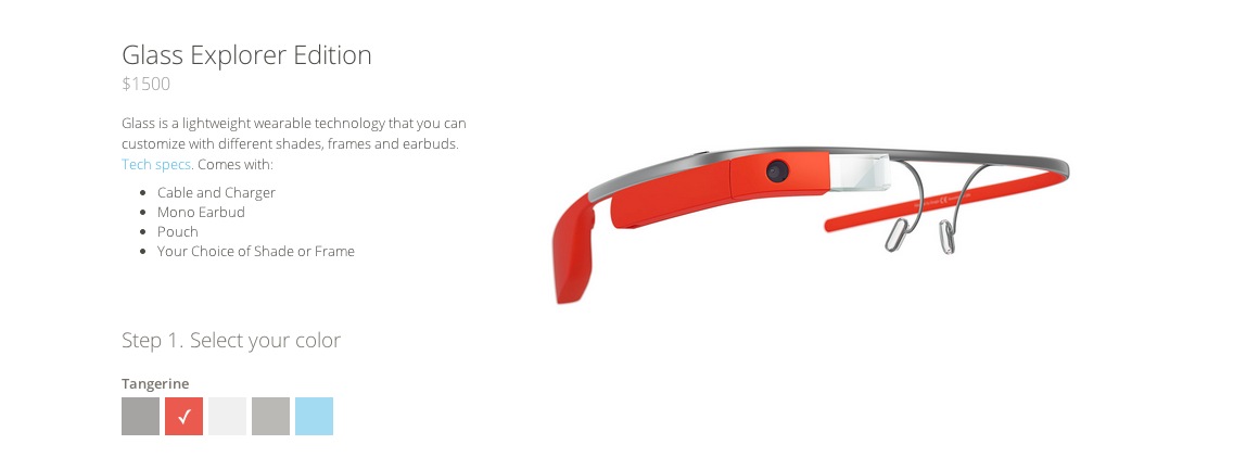 Screen Shot 2014 05 13 at 3.34.17 PM Google launches Glass open beta: Anyone in the US can now buy the Explorer Edition for $1,500