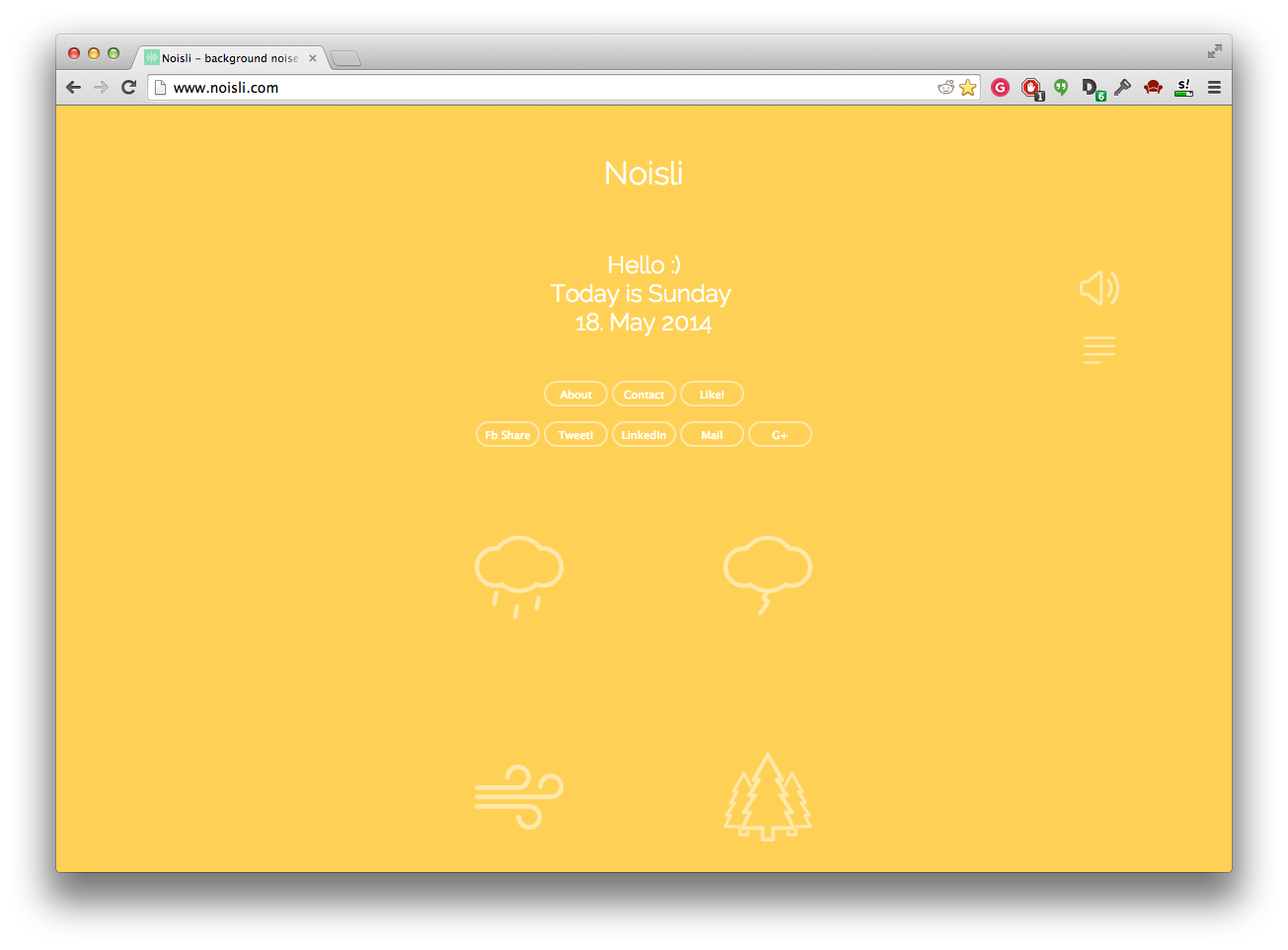 Screen Shot 2014 05 18 at 11.24.07 am Meet Noisli, the beautiful background noise generator that helps you be more creative