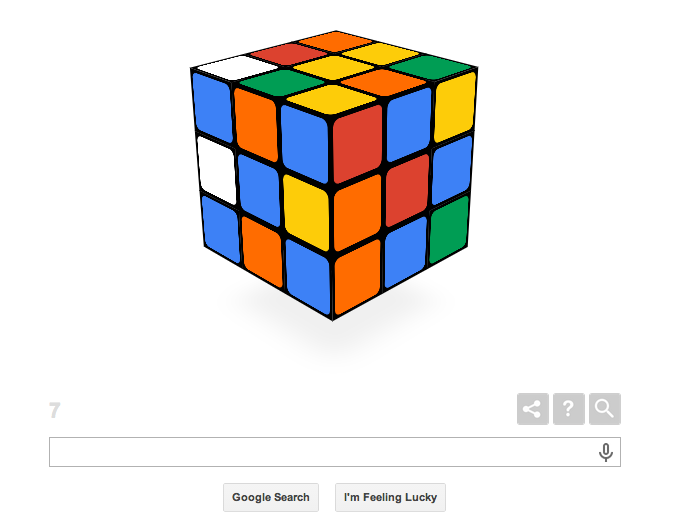 Screen Shot 2014 05 19 at 09.34.22 Celebrate the Rubiks Cubes 40th anniversary with this fully functional Google Doodle [Updated]
