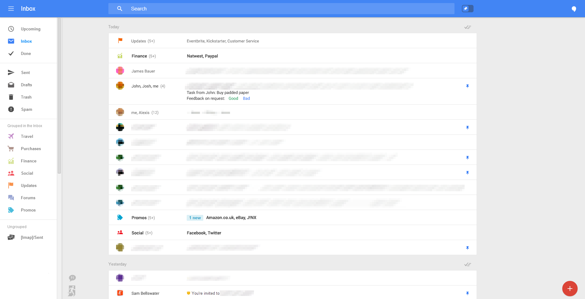 Screen4 Google appears to be testing a stunning Gmail overhaul that puts the focus solely on email