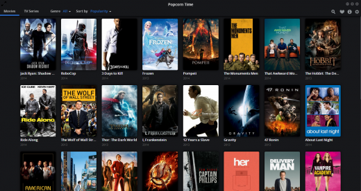 Screenshot 2014 05 14 09.39.39 520x276 Popcorn Time now streams TV shows and is available on Android