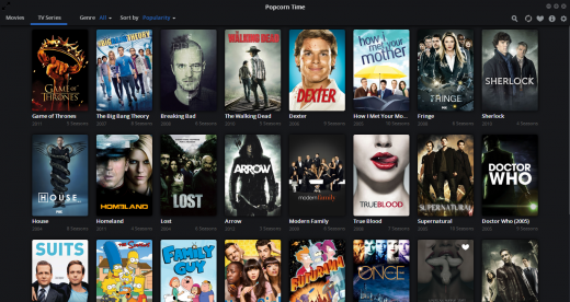 Screenshot 2014 05 14 09.39.56 520x276 Popcorn Time now streams TV shows and is available on Android