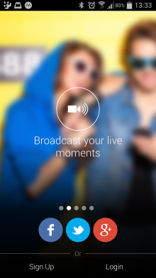 Screenshot 2014 05 15 13 33 48 220x391 Mobli now lets you live broadcast videos to all your followers