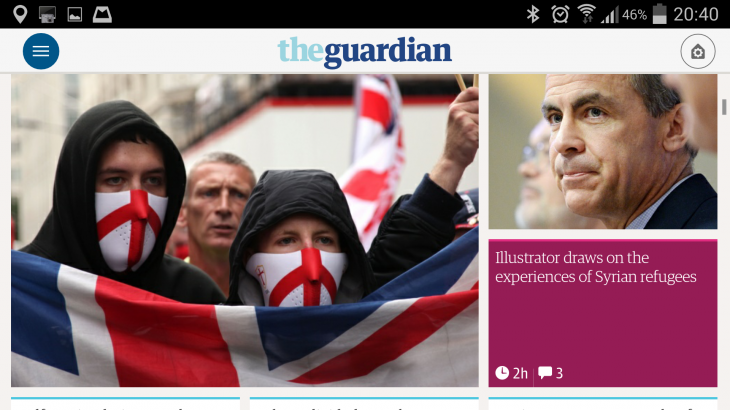 Screenshot 2014 05 27 20 40 10 730x410 The Guardian gets personal with slick, redesigned adaptive mobile apps