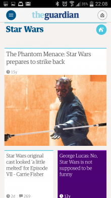 Screenshot 2014 05 27 22 08 35 220x391 The Guardian gets personal with slick, redesigned adaptive mobile apps