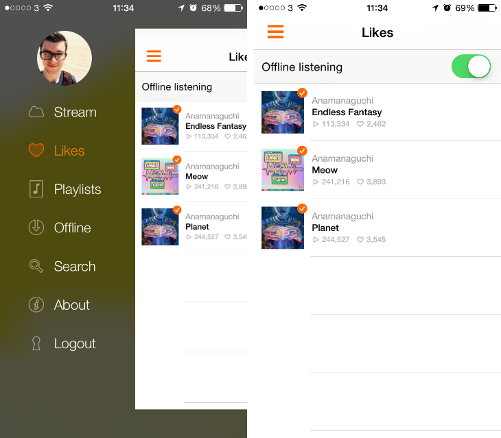 Soundcloud2 Soundflake is a brilliant SoundCloud client for your iPhone [Updated]