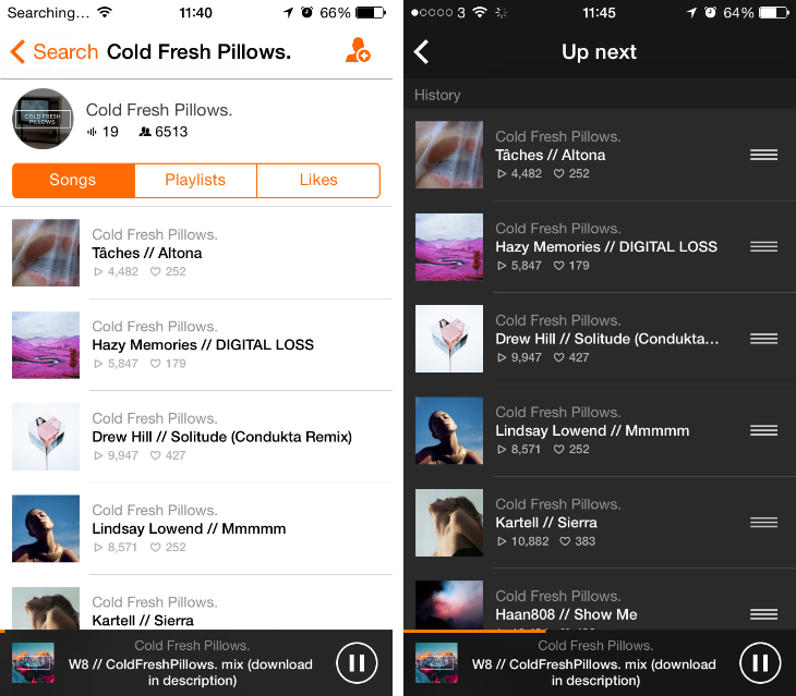 Soundcloud4 Soundflake is a brilliant SoundCloud client for your iPhone [Updated]