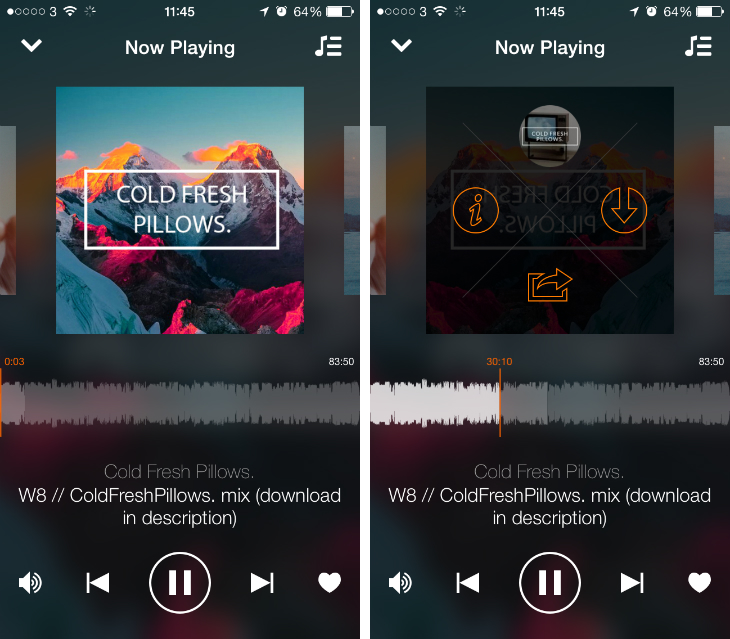 Soundcloud5 Soundflake is a brilliant SoundCloud client for your iPhone [Updated]