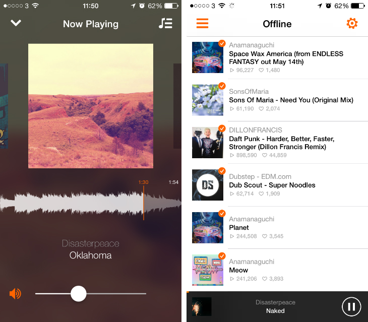 Soundcloud6 Soundflake is a brilliant SoundCloud client for your iPhone [Updated]