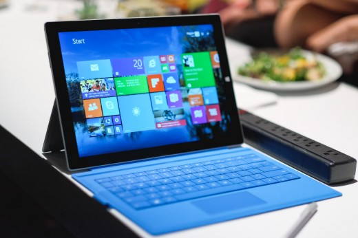 Surface 8 520x346 Surface Pro 3 first impressions: Third times almost the charm