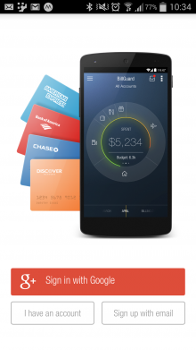 a5 220x391 BillGuard now helps Android users combat credit card fraud and hidden merchant fees