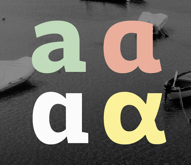 adria slab The best typefaces from April 2014