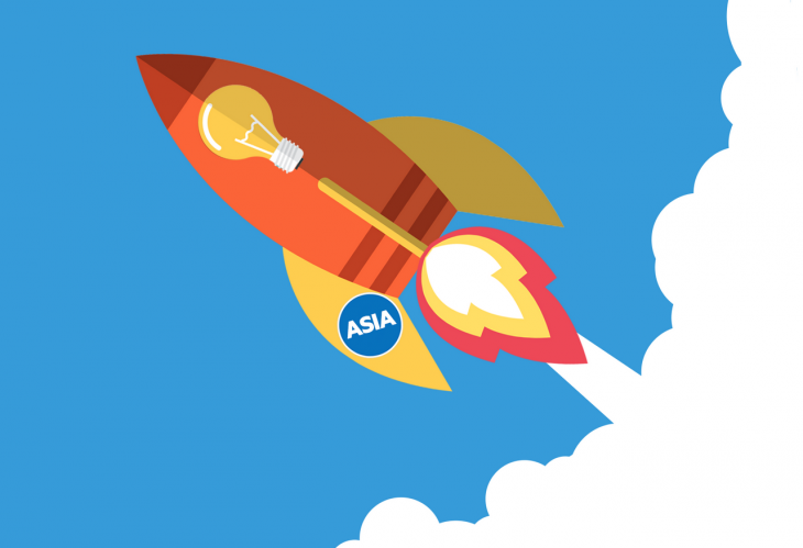 asia rocket 730x499 Theres a perfect storm brewing for SaaS startups in Asia
