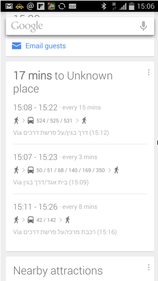 bad google now Context design: How to seize the magic moment