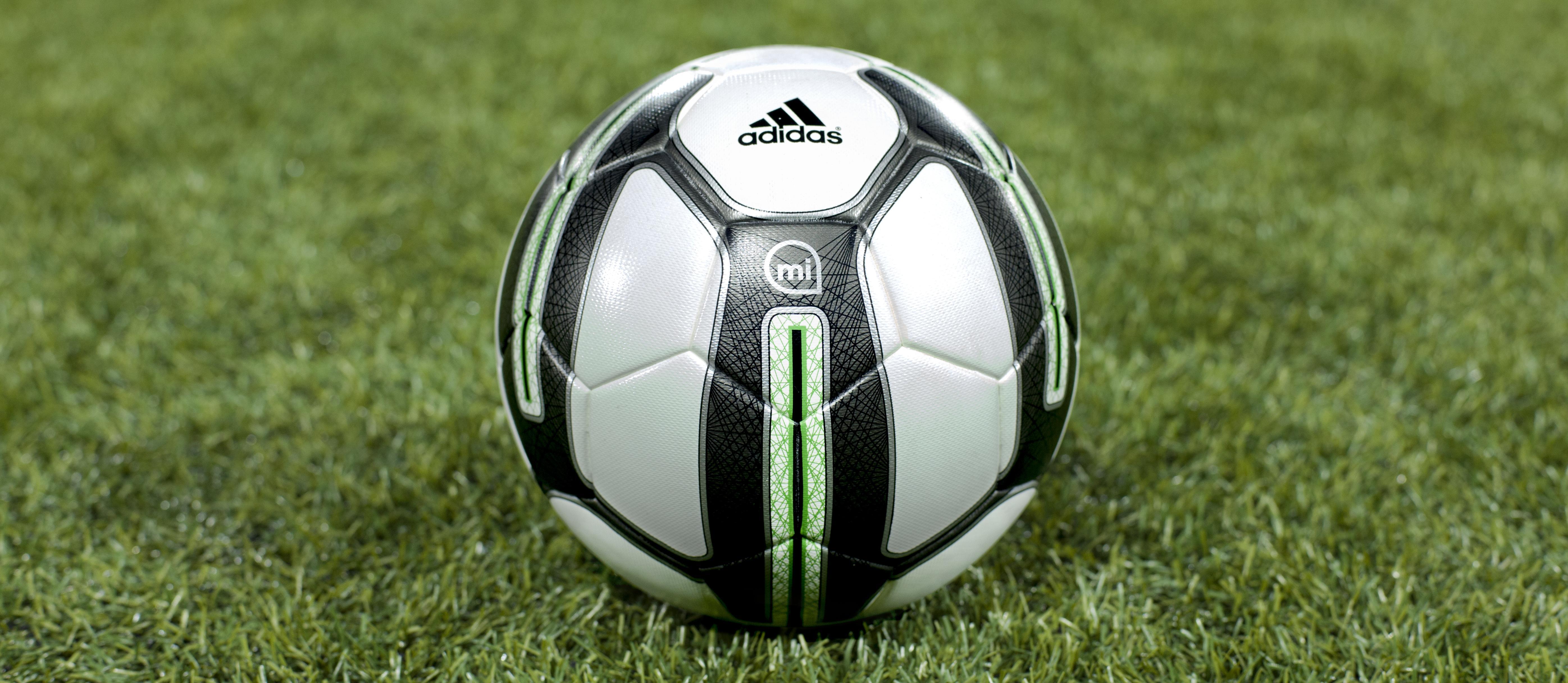 Adidas miCoach Smart Ball Helps you bend it like Beckham