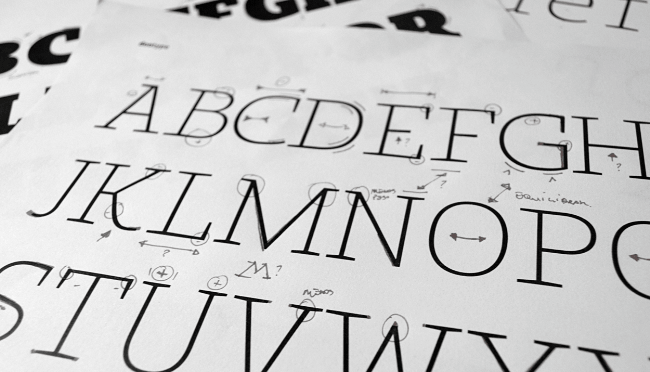 bommer slab The best typefaces from April 2014