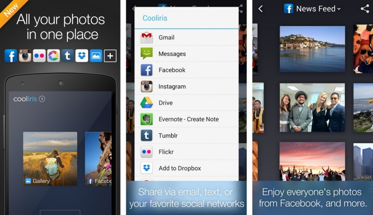 cooliris android 730x421 Cooliris finally brings its photo sharing service to Android devices
