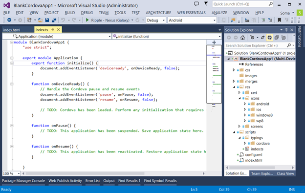 cordova vs2 Microsoft releases Visual Studio 2013 Update 2, support for Apache Cordova, ASP.NET vNext preview, and more