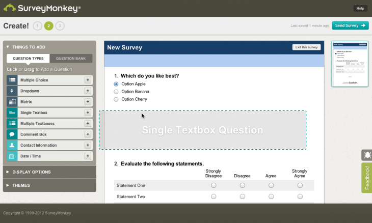 SurveyMonkey-Create