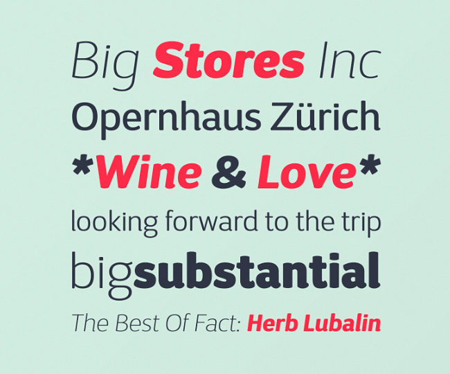 dsari The best typefaces from April 2014