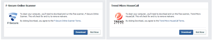 facebook security Facebook now offers free anti malware software if it detects an infection when you login