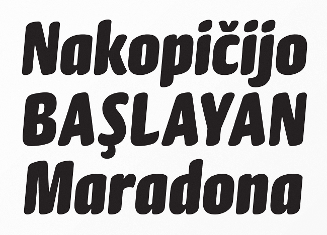 gabriello The best typefaces from April 2014