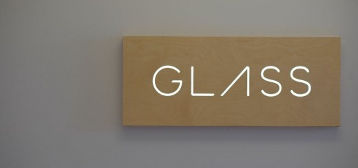 google glass sign