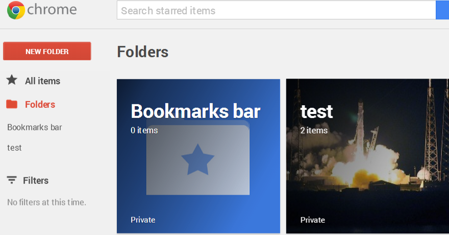 google stars folders Google Stars extension for Chrome leaks: Hands on